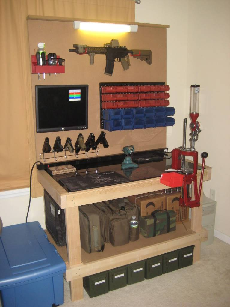 finished reloading bench
