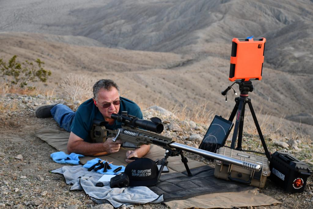 Lou Murdica shooting 10x100BWA ELR