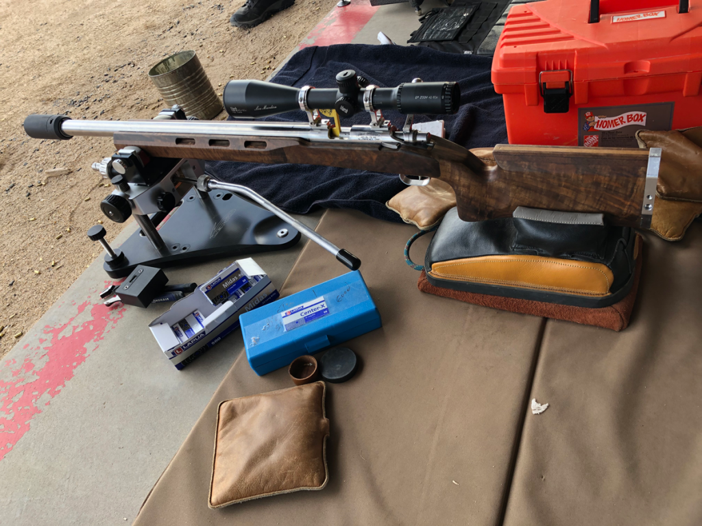 Lou Murdica 22 Rimfire Rifle