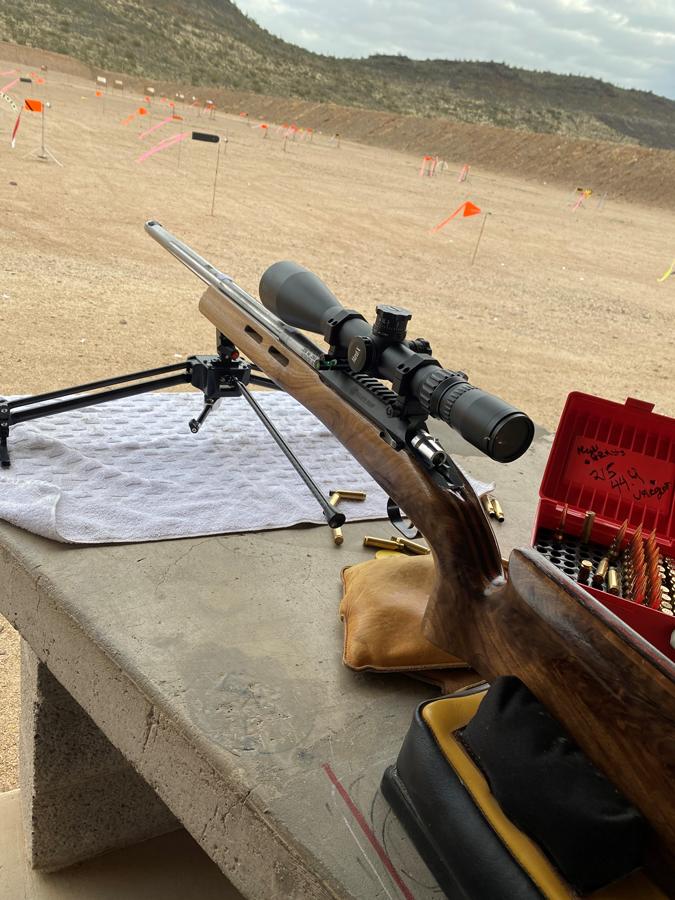 Lou Murdica FTR F-Class 308 rifle